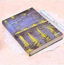 Páginas de color de tapa dura vintage Cuaderno de