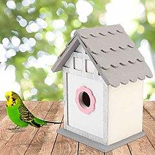 Pajarera para pájaros, pajarera, casa de cría de