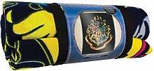 Paladone Manta Harry Potter Hogwarts, Multicolor,