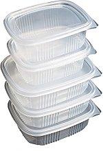 PAMPOLS Pack de 25 Recipientes Reutilizables para
