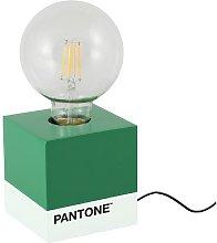 PANTONE Lampara de mesa con forma de base - Cubo -