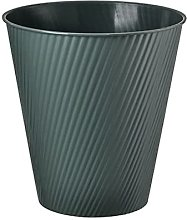 Papelera de basura redonda de plástico pequeña