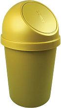 Papelera H700xØ403mm 45l amarillo - Helit