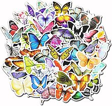 Paquete de pegatinas de mariposa para ordenador
