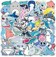 Paquete de pegatinas de tiburón para monopatín,