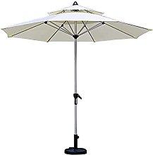 Paraguas al aire libre redondo de una sola parte