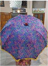 Paraguas de jardín decorativo vintage Tukri