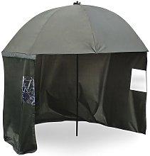 Paraguas de pesca 250cm, faldón lateral, 2