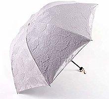 Paraguas De Princesa, Sombrilla De Encaje,