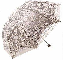 Paraguas Señora Sombrilla Elegante Princesa