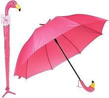Paraguas Tipo Flamenco con Acabados de Alta