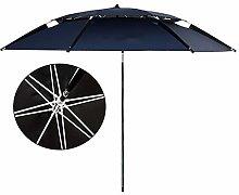 Parasol 220cm Playa/Sombrilla de Pesca Doble