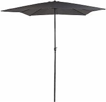 Parasol cuadrado Garden 300x300cm color antracita