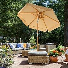 Parasol de jardín de 2 m, Sombrilla con