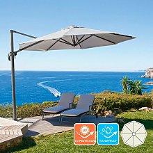 Parasol excéntrico sombrilla de jardín 3 m