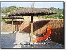Parasol Sombrilla De Brezo 2.40 Mts Jardin Para