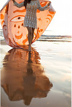 Pareo Playa en Algodón Mistyk Multicolor Classic