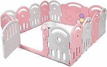 Parque Infantil Bebé con 14 Paneles Plegable