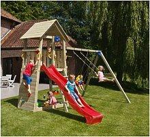 Parque Infantil Belvedere Xl Con Columpio Doble -