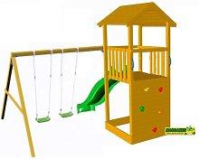 Parque Infantil CANIGO con columpio doble -