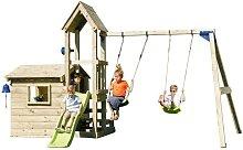 Parque infantil Look Out M con columpio doble -