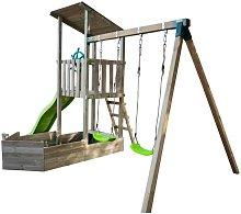 Parque infantil NAUTILUS con columpio doble -