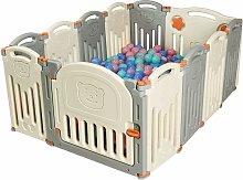 Parque Infantil para Bebé de HDPE 12 Panel