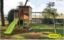 Parque Infantil Taga Con Columpio Doble - Masgames