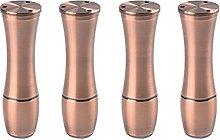 Patas de Aluminio para Muebles X4, Patas de