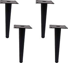 Patas de mesa de 4 piezas de metal para muebles,