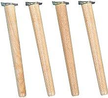 Patas para muebles de madera maciza, patas de mesa