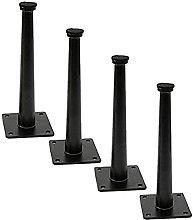 Patas para muebles X4, patas de mesa de metal