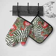 Patrón tropical moderno sin costuras con guantes