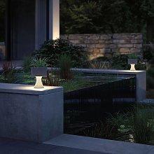 Paulmann Concrea lámpara decorativa LED, jardinera