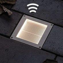 Paulmann foco empotrado solar LED Aron 10x10cm