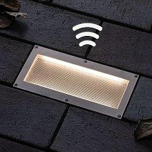 Paulmann foco empotrado solar LED Aron 20x10cm