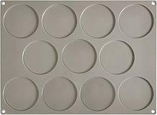 Pavoni, disco piccolo molde gris