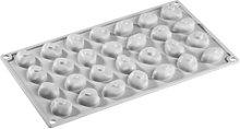 Pavoni, gourmand molde silicona piedras, gris