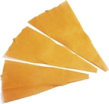 Pavoni ,manga pastelera en silicona color naranja,