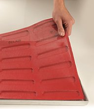 Pavoni, molde microforado en silicona