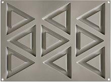 Pavoni, triangulo molde gris