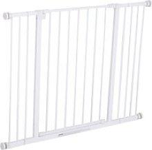 PawHut Barrera de Seguridad Extensible Puertas y