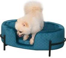PawHut Sofá Cama para Mascotas Perros Pequeños