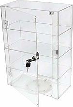 PC3721® 1 Vitrina de acrílico Transparente de