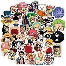 Pegatinas de anime de una sola pieza Luffy Zoro