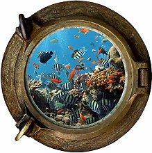 Pegatinas de pared Peces y corales Calcomanía de