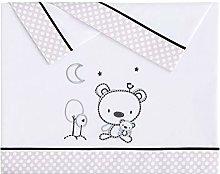 Pekebaby Tríptico Sábanas Algodón de bebé