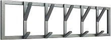 Perchero Frame L gris 80x9x22 cm - Gris - Label51
