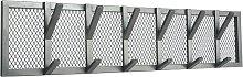 Perchero Gruff XL gris 95x9x22 cm - Gris - Label51