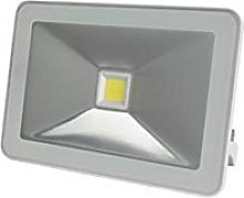 Perel Design - Foco LED (10 W, carcasa blanca),